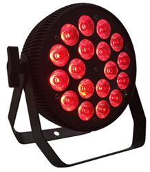 1 sztuk więcej niż 18*18 w rgbwa uv 6 i 1 dmx led plana par 64 sztuk Led luz par Mini etap w Oświetlenie sceniczne od Lampy i oświetlenie na