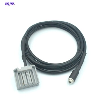Car 3.5mm aux Cable Adapter to radio AUX Input female plug MP3 Audio Connector For Honda Accord CRV Civic new high quality KOJDL image