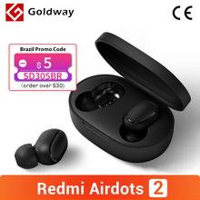 Xiaomi Redmi AirDots 2 Wireless Bluetooth 5 0 TWS Kopfhörer Headset Links Rechts Niedrigen Lag Modus Mi Wahre Wireless Stereo Auto link cheap In-ohr NONE Dynamische CN (Herkunft) Nein 104dB Für Handy Hifi Kopfhörer Gemeinsame Kopfhörer Kein 32Ω Redmi Airdots S