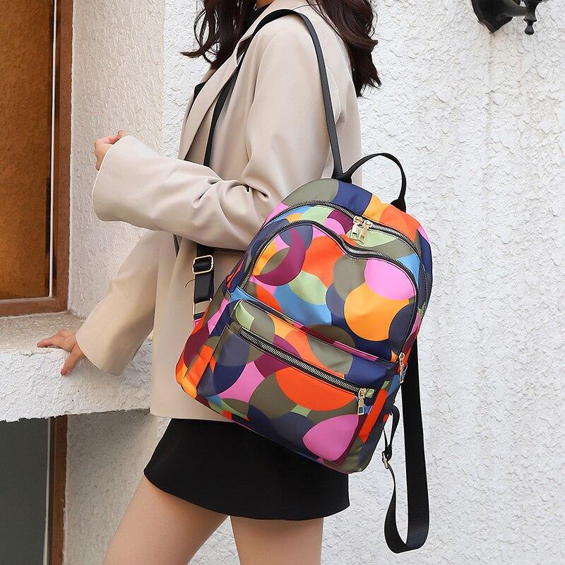 Colorful Large Shoulder Backpack