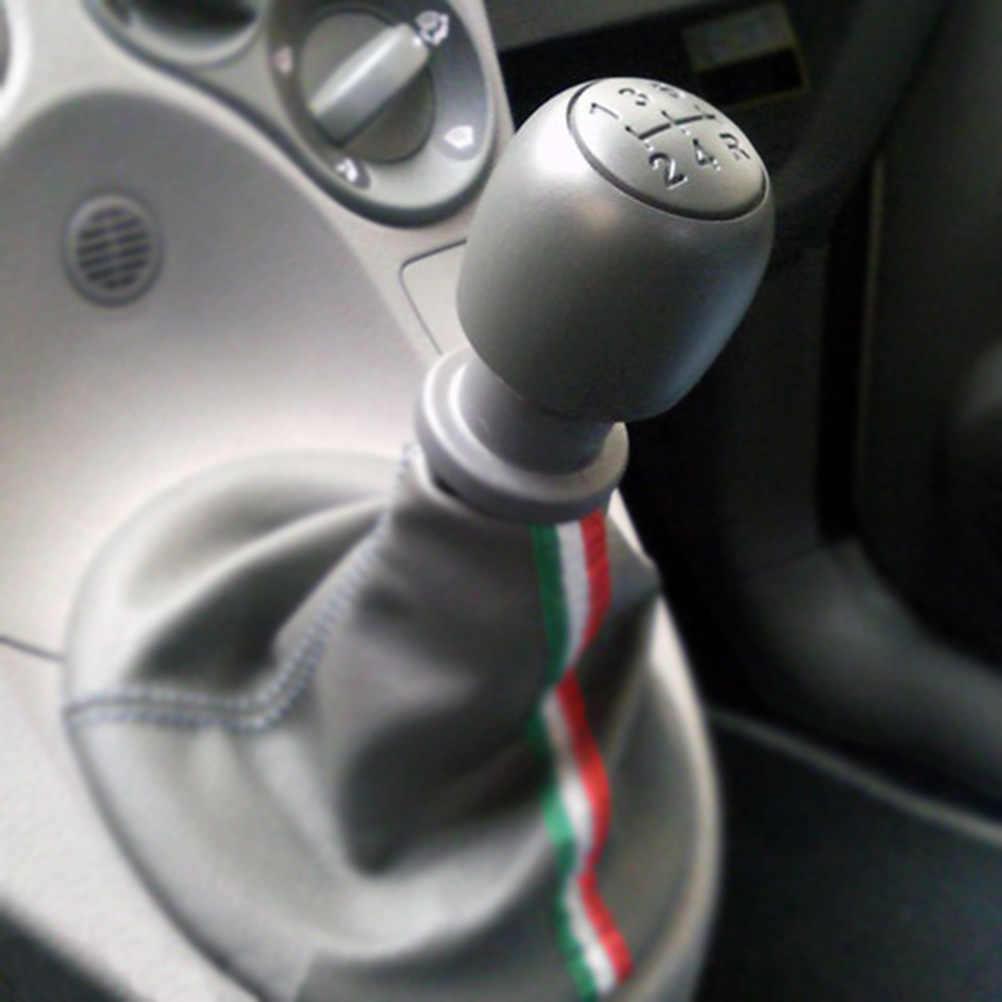 5 Speed Gear Stick phím Shift Shifter Knob Handball Đối với Fiat 500 500C 2007-2013 / Panda 2003-2012