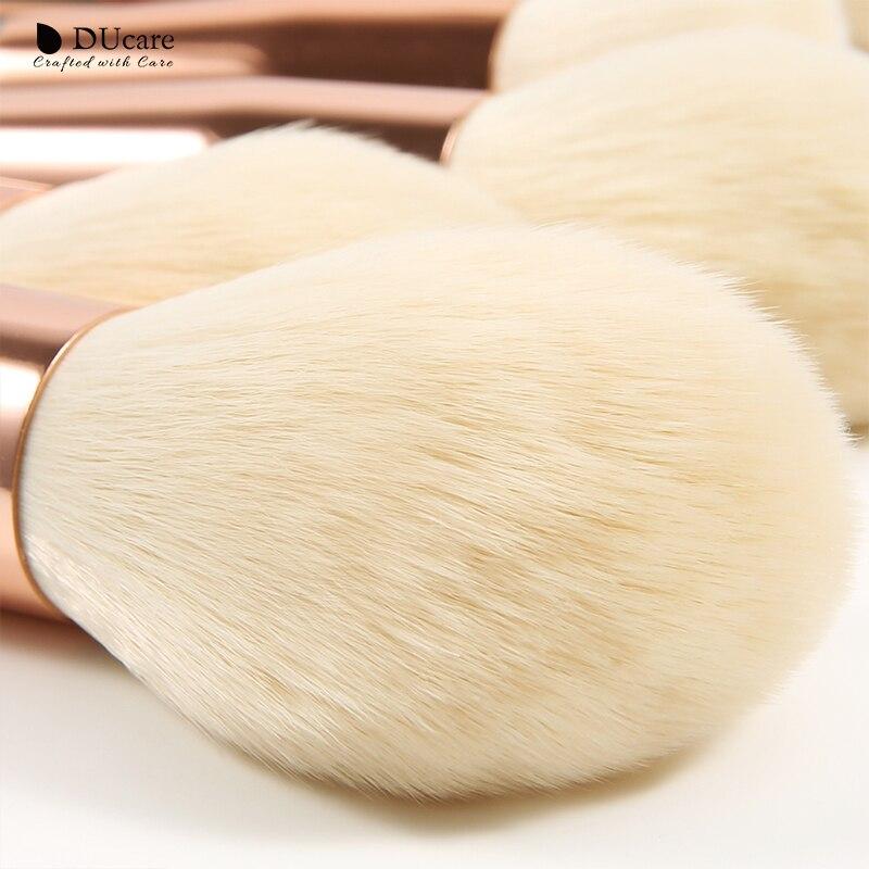Image 3 - DUcare 13Pieces Makeup Brushes Set Eye Shadow Foundation Powder Eyeliner Eyelash Lip Make Up Brush Cosmetic Beauty Tool Kit HotEye Shadow Applicator   -
