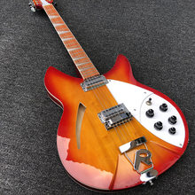 2019 High quality 12 String Electric Guitar, Ricken 360 Electric Guitar,Cherry red Burst body,Rosewood fingerboard,free shipping(China)