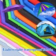 Tissu en Nylon imperméable de couleur 100x150CM, tissu en Polyester, bricolage à la main, parapluie, fanion de cerf-volant, tente de camping en plein air, housse de siège