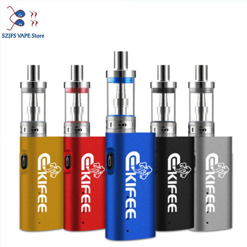 Original Ekifee TC 40W Box Mod Vape With 2200mah Battery 510 3ml Thread VS Ht 50 100 Jsld BIG BOX 80w Electronic Cigarette Vaper