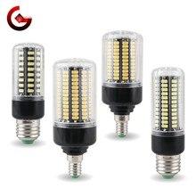 Ampoule épis de maïs, lumière sans scintillement, 3.5W 5W 7W 9W 12W 15W 20W E27 E14 220V 110V SMD 5736