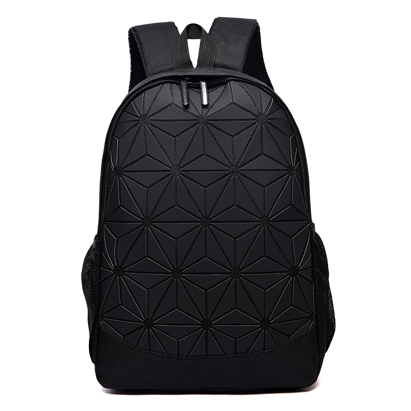 Fashion Women Backpack Mochila Geometric Pattern Luminous School Bag Backpack Girls Travel Shoulder Bag Mochila Feminina Bb144#