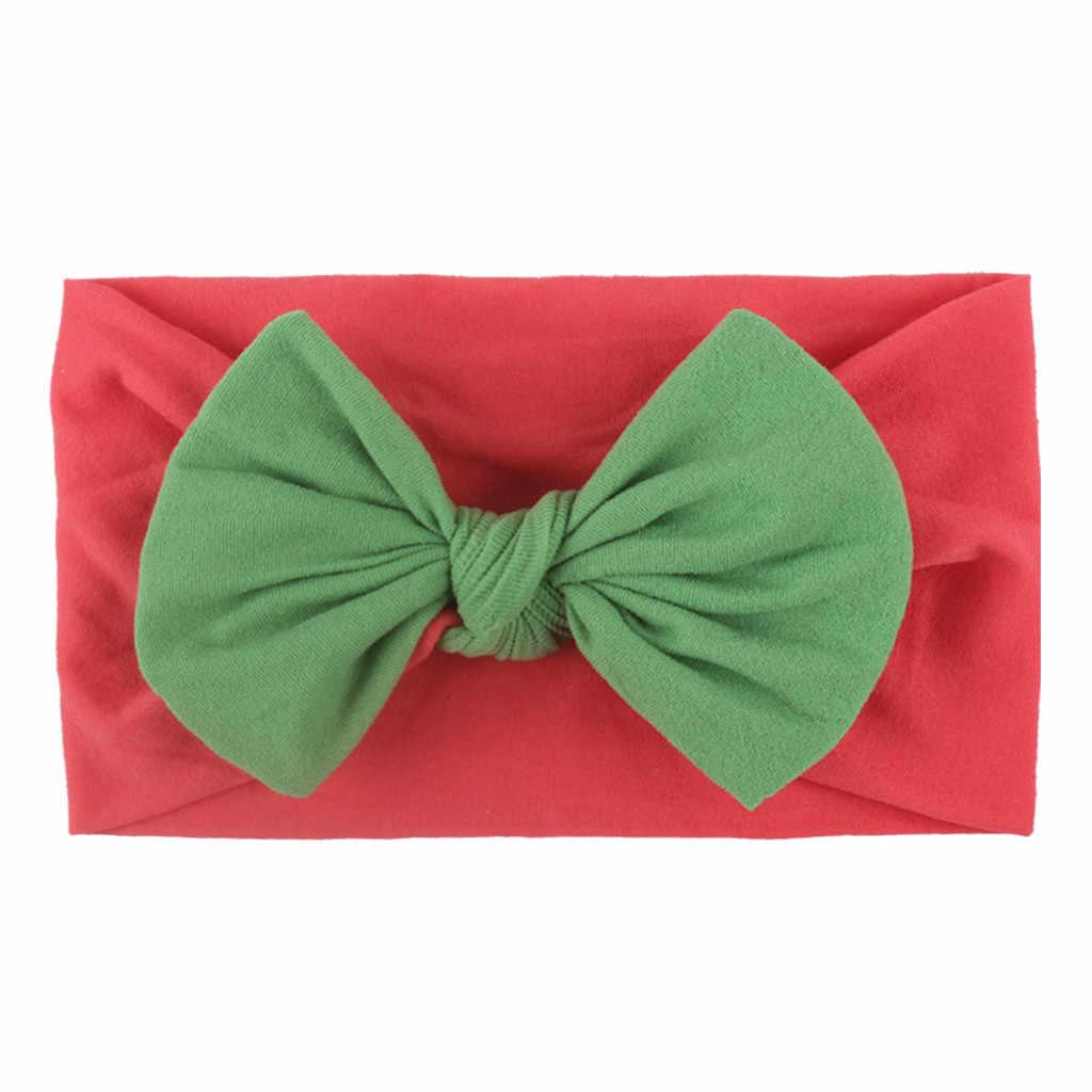 Детские Луки для новорожденных, повязка на голову для мальчиков и девочек, Рождественский ошейник, повязка на голову, аксессуары для волос, Шапка, бандо, Bebe Fille