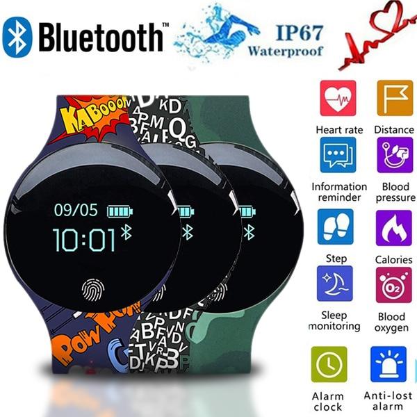 2019 Electronic LED Digital Wristwatch Child Digital Wrist Watch Gift Popular Children Watches For Girls Boys Digital Clock Hour