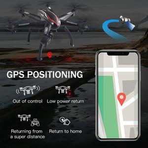 Image 2 - L100 Drone GPS 4K HD ESC Wide Angle Camera 5G WIFI FPV Selfie Drones Professional 400m Long Distance Follow Me RC Quadcopter