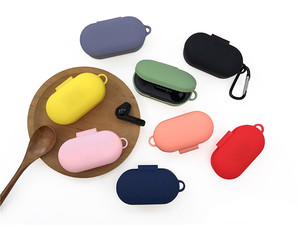 New Silicone Case for QCY T3 Wireless Bluetooth Earphone Case Portable Soft Earbuds Charging Box Cover for QCYT3 Case(China)