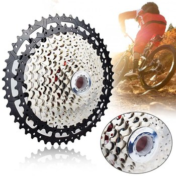 Road Bike Freewheel 11-40/42/46/50T Bicycle Flywheel Steel 9/10/11/12 Speed Cassette Freewheel Bicycle Accessories image