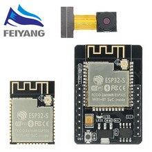 ESP32-CAM WiFi WiFi modülü ESP32 seri WiFi ESP32 kamera geliştirme kurulu 5V Bluetooth ile OV2640 kamera modülü