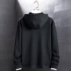 Image 2 - Singload męskie bluzy 2020 kieszenie moda bluza Hip Hop Harajuku japońska moda uliczna czarna bluza z kapturem męskie bluzy męskie
