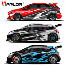 Car Vinyl Wrap Film Sticker Design for Ford Focus 2 3 Fiesta Volkswagen Polo Golf 4 7 5 6 Nissan Tiida Honda Fit Car Accessories(China)
