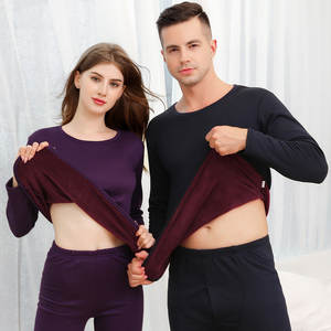 Thermal-Underwear-Sets Long-Johns Thick Winter Women And for Russian-Canada European