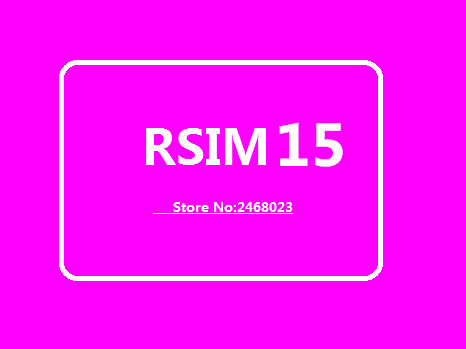 OEM RSIM 15 RSIM15 General Use  IPhone11MAX/6P/6S/5S/XS/8/X  Support IOS 13