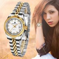 PAGANI DESIGN Women's Watches Reloj Mujer Gold Simple Fashion Ladies Women Waterproof Sapphire Watch Clock Relogio Feminino+Box