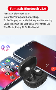 Image 3 - TWS V5.0 Bluetooth Earphones Wireless In Ear Sports headset 3D Stereo Earbuds Mini in Ear Dual Microphones With Charging box