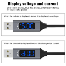 Intelligent LED Display Data Line Smart Voltage Phone Charging Cable for Smartphone SP99