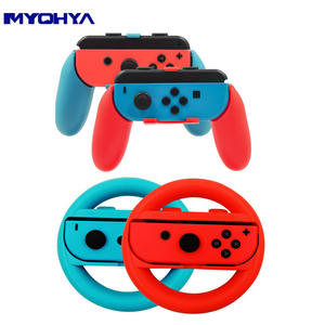 2 piecesset Steering Wheel or Game Controller Handle Kit for Nintendo Switch Joy Con