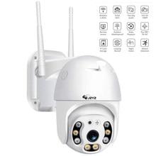 Telecamera IP Wireless PTZ impermeabile 4X Zoom digitale Speed Dome Super 1080P WiFi sicurezza CCTV Audio bidirezionale rilevazione umana AI
