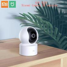Оригинал Xiaomi Mi Mijia 1080P умная ip веб камера 360 градусов 2,4G Wi Fi 10m инфракрасное ночное видение + NAS Mic Speaker Mi Home Cam