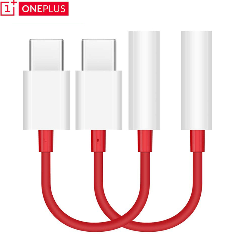 Оригинальный Тип USB C до 3,5 мм разъем для наушников адаптер с разъемом подачи внешнего сигнала Aux для one plus 7 USB-c музыки конвертер кабель для ...
