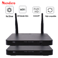 Video Sender Transmitter-Receiver Wifi Hd Audio Wireless Ir-Support with HDCP1.4 HDTV