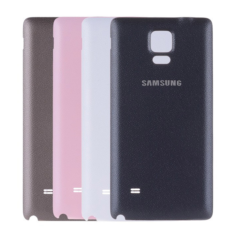 Battery Back Cover For Samsung Galaxy Note 4 Nota 4 N910F N910V N910C N910I Rear Housing Battery Door Case Replacement Parts
