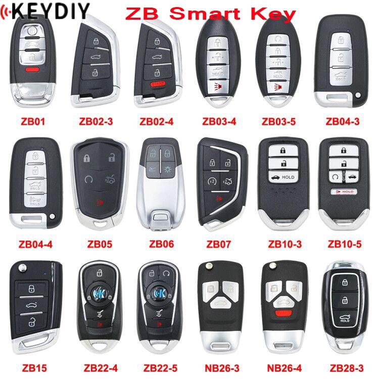 Smart-Key Key-Programmer KEYDIY Universal KD-X2 Zb-Series Original for Multi-Functional