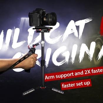 ifootage WildCat III Aluminum alloy&carbon fiber DSLR camera steadicam unique arm support Super light Fast balance stabilizer