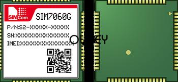 SIMcom SIM7060G NB-IoT&GNSS Module NBIOT+GPS Module, 100% Brand New Original