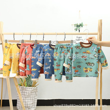 Pajamas Thermal-Underwear Violence-Products Fleece-Lined Stall Yuan Thickened Jianghu