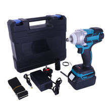 Cordless Brushless Impact Wrench Dual Purpose Electric Wrench Electric Screwdriver Power