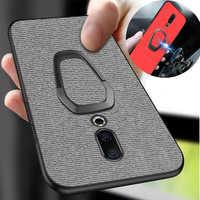 phone case for meizu 16xs 16s 16x note 9 Holder Ring CBumper Back for meizu 16 16th Cover case