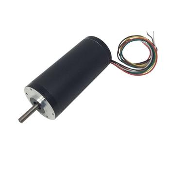 93RBL BLDC Diameter 93mm 24 Volt Electric 5000RPM High Torque Brushless Small DC Motor 77.5W 0.185N.m Torque DC Brushless Motor