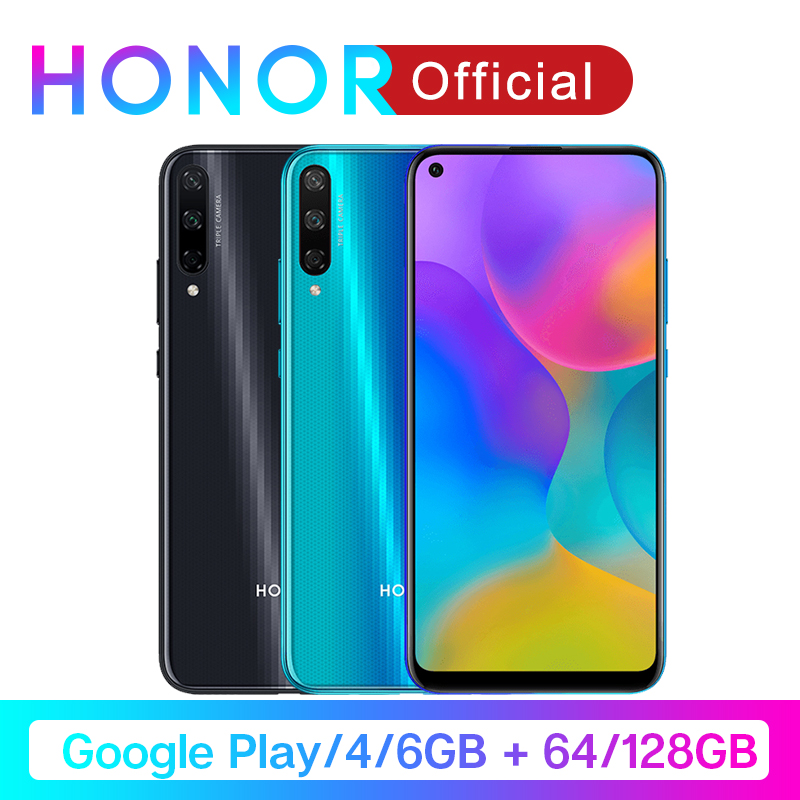 Original Honor Play 3 Google Play Kirin 710 F Octa Core Smartphone 48MP AI Triple Cameras  6.39