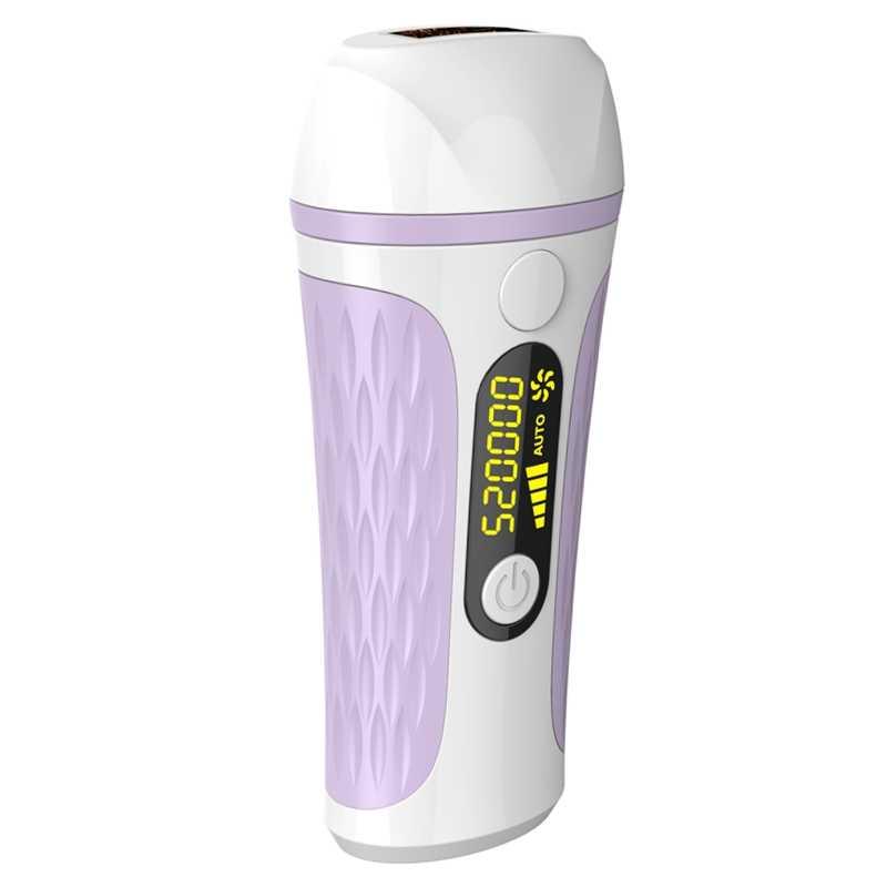 500000 darbe ışık ağrısız IPL lazer epilasyon elektrik epilatör kadın yüz saç temizleyici makine dişi fotoepilator