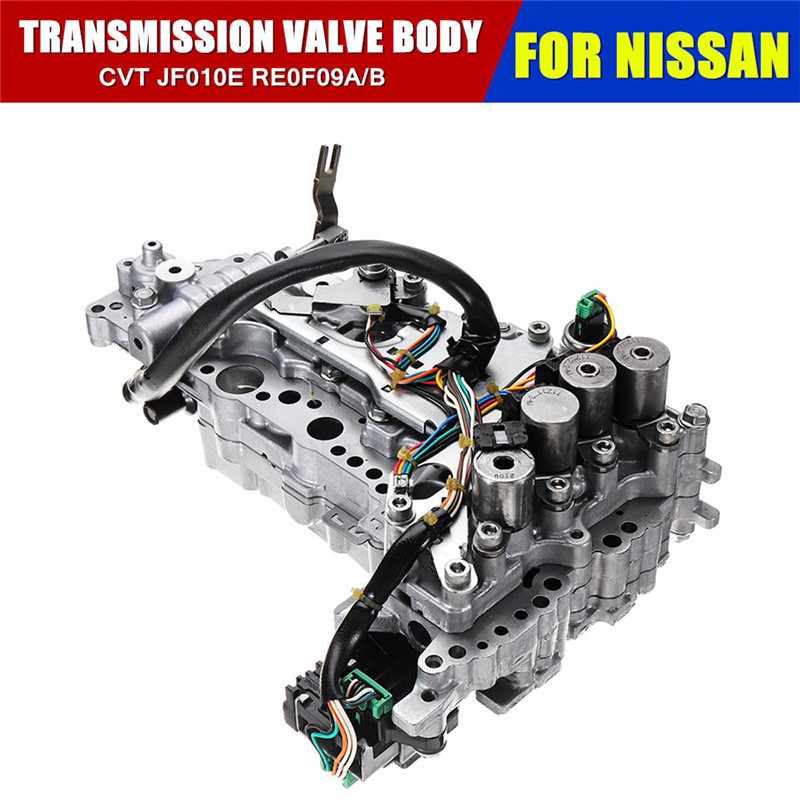 Valve Body CVT Transmission RE0F09A/ JF010E For Nissan Murano Maxima Quest Wavebox Gearbox Solenoid Valve Body