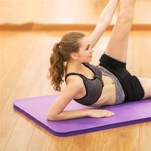 SGODDE 183*61*1 см толстый нескользящий коврик для йоги, мягкий коврик для спортзала, складные коврики для пилатеса, оборудование для бодибилдинга и фитнеса