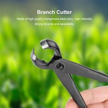 1 Pcs Knob Cutter Professional Sharp Blade Round Edge Concave Knob Branch Cutter Garden Bonsai Tools Durable Manganese Steel master quality knob cutter bonsai tools concave cutter round edge cutter 210mm 8 1 4 carbon steel from tianbonsai