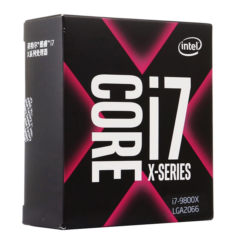 Intel Core I7-9800X X-Series Processor 8 Cores Up To 4.4GHz Turbo Unlocked LGA2066 X299 Series 165W Processors