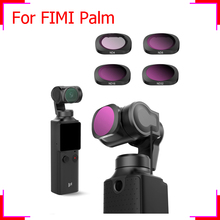FIMI PALM gimbal camera filter MCUV ND CPL color filters kit fimi palm accessories ND4 8 16 32 Professional Camera lens Filters