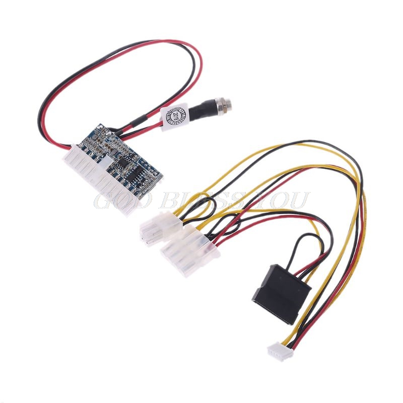 DC 12V 160W 24Pin <font><b>Pico</b></font> <font><b>ATX</b></font> <font><b>Switch</b></font> <font><b>PSU</b></font> Car Auto Mini ITX High Power Supply Module Drop Shipping image