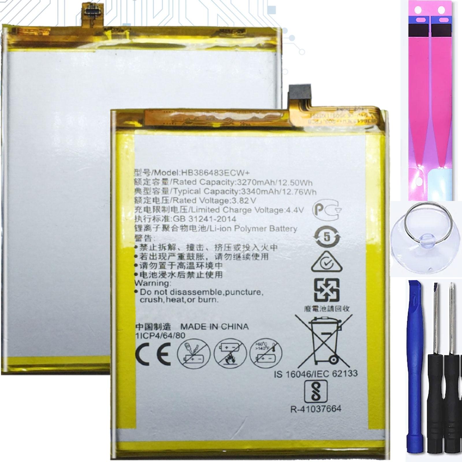 Аккумулятор для Huawei Honor 6X 6C Enjoy 6S, G9 Nova Plus, Mpn оригинальный Hb386483Ecw|Аккумуляторы для мобильных телефонов|   | АлиЭкспресс