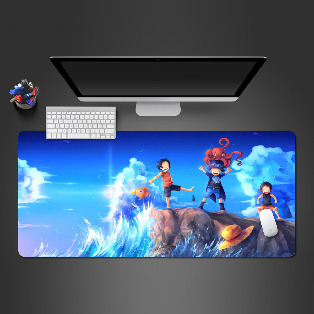 The Beach To Play Anime Mousepad Creative Gift Mouse Pad Gamer Desk Mats Computador Gamer Mousepad To Girlfriend Gift image