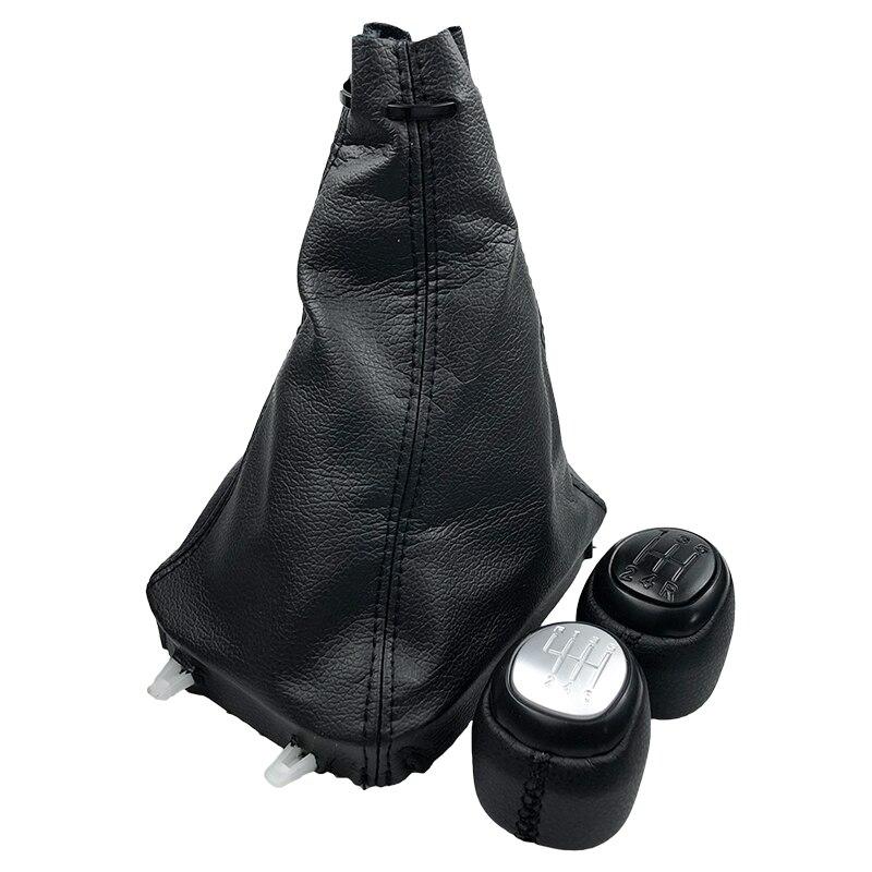 Ручка рычага переключения передач 5/6, чехол для ботинка SAAB 93 9-3 SS 2003-2012, аксессуары для стайлинга автомобиля, Ручка рычага переключения перед...