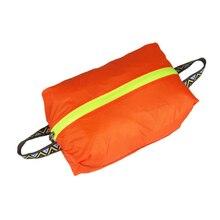 Для отдыха на открытом воздухе ультралегкий Водонепроницаемый непромокаемый мешок для обуви Портативный силиконовые нейлон Костюмы хранения сумка для обуви товары для путешествий