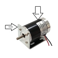 50ZYT78 R DC motor 12V/24V small motor / DC speed motor / DC high speed motor
